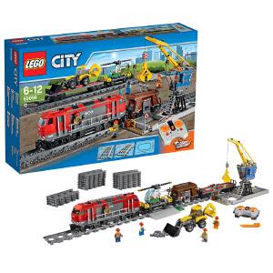 [当当自营]LEGO 乐高 CITY城市系列 城市重载列车 积木拼插儿童益智玩具 60098