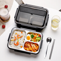 光一饭盒大容量不锈钢小学生专用儿童便当餐盒午餐分格型防烫带盖保温