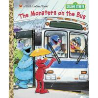 英文原版 芝麻街:公交车上的怪物 The Monsters on the Bus (Sesame Street)