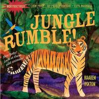 【现货】英文原版 Indestructibles: Jungle Rumble! 丛林之声 婴儿无毒可咬绘本 小开本平装