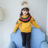 女童毛衣套头加厚2017装新款儿童装3宝宝5季6针织衫9韩版10岁