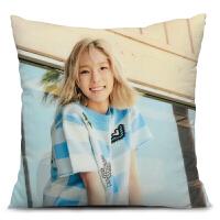 少女时代金泰妍太妍周边海报同款抱枕定制床头靠垫大号生日礼物品