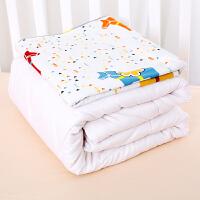 君别婴儿被子宝宝棉花被婴儿床上用品宝宝幼儿园子母被四季可用 小木马款 春秋1.5斤棉花被 130x100cm