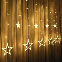 满天星小彩灯led星星窗帘灯闪灯串灯圣诞节网红灯房间卧室装饰灯