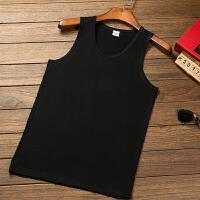 莫代尔背心男士夏季潮牌修身型运动篮球健身紧身弹力跨栏无袖T恤