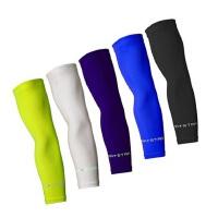 运动防护反光炫酷护臂 羽毛球篮球加长套袖护肘 护臂保暖运动紧身防滑透气防撞护具
