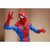 好运连 漫画英雄 蜘蛛侠 可动人偶玩具动漫周边模型33cm