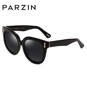 帕森偏光太阳眼镜 男女款板材大框复古潮墨镜驾驶镜 9667