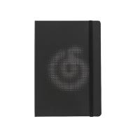 网易云音乐黑色镂空笔记本 涂鸦记事本手账本日记本简约学生文具本子