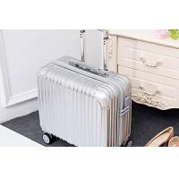 复古旅行箱16寸铝框拉杆箱女商务行李箱子18小型登机箱男万向轮世帆家SN3990