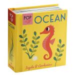 启蒙立体小书 海洋生物 英文原版 Pop-up Ocean 儿童认知识物 英文启蒙 立体书