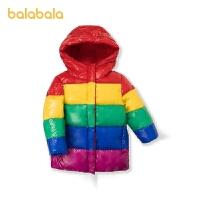 【�_�W季 折后�B券�A估�r:179.5】巴拉巴拉女大童羽�q服冬季童�b�和�外套�r尚洋�饬辽���性