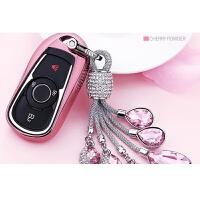 适用于别克钥匙包套新君越昂科威汽车钥匙扣壳君威GL8昂科拉威朗世帆家SN1331