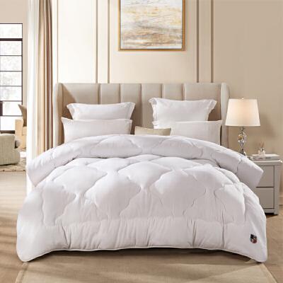 LOVO家纺 春秋被床品被子被芯1.5/1.8米床 恬梦纤柔春秋被