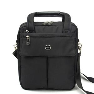 瑞士军刀单肩包男商务休闲斜挎包 A4大小电脑包IPAD男士手提包背包 SA-8818