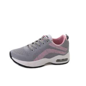 女鞋运动鞋秋季新款透气跑步鞋全掌气垫鞋耐磨休闲跑鞋