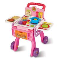 Vtech伟易达厨房购物车 儿童早教女孩超市手推车过家家购物玩具