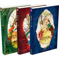 chiya童话绘本系列(童话之森+童话之心+童话之音)(套装共3册)