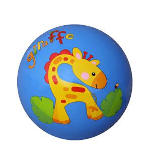 【当当自营】费雪FisherPrice 9寸宝宝拍拍球 婴儿玩具球幼儿园拍拍球玩具皮球(送打气筒)-蓝F0516-1