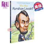 【中商原版】谁是亚伯拉罕・林肯? 英文原版 Who Was Abraham Lincoln?
