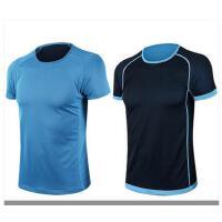 大码跑步健身运动速干T恤定制双面速干衣男宽松透气户外短袖