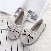 月子鞋秋冬产后用品包跟室内棉拖鞋女包跟产妇软底春秋季孕妇拖鞋