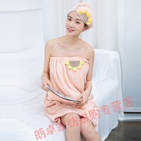孕妇专用浴巾浴巾女可穿可裹巾浴裙家用非吸水不掉毛速干可爱学生