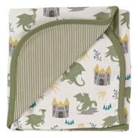 100% 有机棉 童话系列 婴儿包巾( 麒麟 / 猫头鹰 )