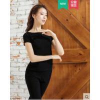 舞蹈练功服上衣女形体成人现代中国舞莫代尔修身显瘦练舞教师服装