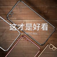 免邮 OPPO手机套 R11S R11 R9S PLus R9全包全电镀硅胶套手机壳 保护套