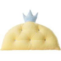 君别床头靠垫软包无床头榻榻米儿童床头靠垫靠枕ins网红儿童大靠背床头板软包床靠背垫