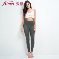 爱慕17AW双层针织裤长裤AM731361
