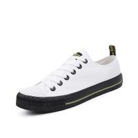 男鞋帆布鞋男百搭低帮板鞋休闲鞋白色男士布鞋学生运动鞋70519