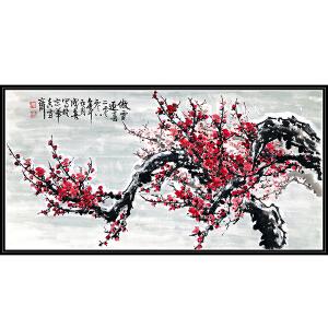 中国美术家协会会员 王成喜《傲雪迎春》JXFT582