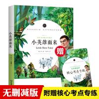 小英雄雨来 六年级快乐读书吧上册书目 完整无删减版 语文名师杨亚军精评 附赠核心考点小册子