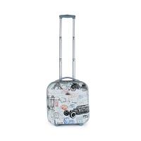 登机箱 16寸拉杆箱单向轮男牛津布小旅行箱包女小行李箱 16寸