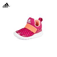 【3折�r:128.7元】阿迪�_斯(adidas)��鞋女小童RapidaZen C�和�鞋CG3264 �t色