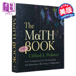 【中商原版】数学书 英文原版 The Math Book: From Pythagoras to the 57th D