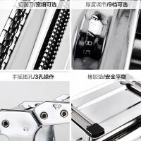 维艾 面条机压面机家用手动多功能不锈钢馄饨饺子皮擀面机 分体双刀