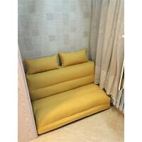 懒人沙发榻榻米可拆洗懒人沙发床榻榻米可折叠单人双人两用阳台卧室客厅小户型多功能椅 1.8*2.1米 三人位【乳胶款】