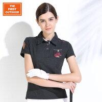 美国第一户外 女士马术系列POLO衫