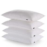 LOVO家纺 全棉绗缝羽丝绒枕头枕芯