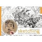【中商原版】素描初学者指南 英文原版 Beginner's Guide to Sketching: Character