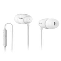 EDIFIER漫步者 K210电脑耳机双插头入耳式游戏耳麦时尚白