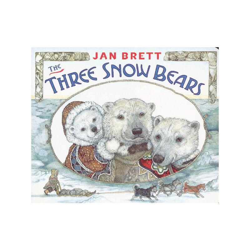 Three Snow Bears [Boardbook] 三只北极熊(卡板书) ISBN9780399260094