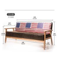 单人沙发西餐厅卡座双人实木咖啡厅沙发桌椅奶茶店酒吧沙发椅