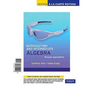 【预订】Introductory and Intermediate Algebra Through Applications, Books a la Carte Ed... 美国库房发货,通常付款后3-5周到货!