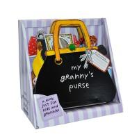 【中商原版】奶奶/外婆的手提包 立体书 操作书 英文原版 My Granny's Purse 玩具书 纸板书 妈妈喜爱