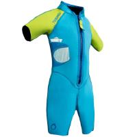 潜水运动 儿童连体短袖潜水服水母衣 防晒保暖