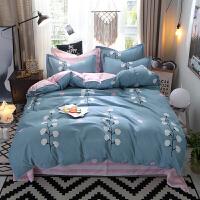 恋人水星磨毛四件套加厚秋冬床单被套1.5米1.8m床品-p定制